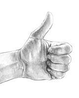 Hand Signs I Fine Art Print