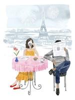 Paris in Love II Fine Art Print
