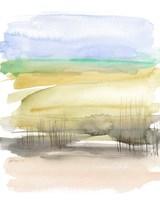 Grassy Marsh I Fine Art Print