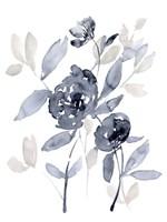 Peonies in Grey I Fine Art Print