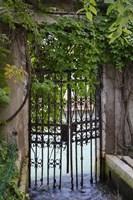 Elegant Canal Entrance Fine Art Print