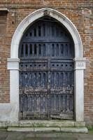 Windows & Doors of Venice V Fine Art Print