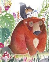 Forest Pals II Fine Art Print