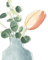Soft Posy Sketch II Fine Art Print