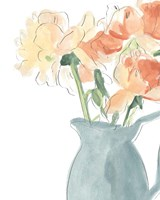 Soft Posy Sketch III Fine Art Print