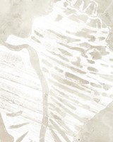 Linen Tropical Silhouette III Fine Art Print