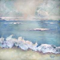 A Day at the Beach II Fine Art Print