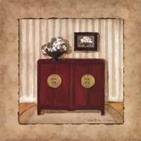 "Oriental Charm I by Charlene Winter Olson - 12"" x 12"""