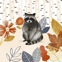 Cozy Autumn Woodland III Fine Art Print