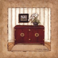 "Oriental Charm II by Charlene Winter Olson - 12"" x 12"""