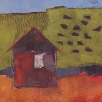 Oosburg Barn Fine Art Print