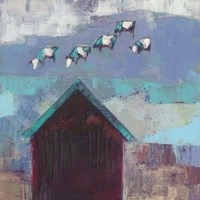 Cow Cloud Barn Fine Art Print