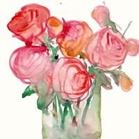 Cottage Roses I Fine Art Print
