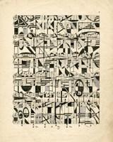 Graphic Notes Fine Art Print