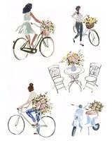Bring Home Flowers I Fine Art Print