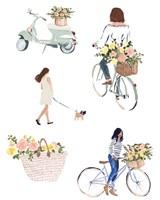 Bring Home Flowers II Fine Art Print