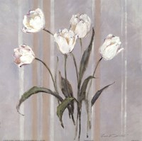 Stripes and Tulips Fine Art Print