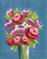 Bashful Bouquet II Fine Art Print