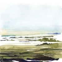 Watercolor Everglade I Fine Art Print