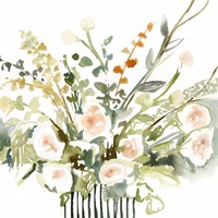 Foraged Flowers I Fine Art Print