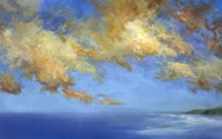 Golden Cloudscape Fine Art Print