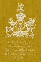 Heraldry Pop IV Fine Art Print