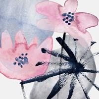 Pink Water Lilies III Fine Art Print