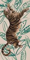 Tigre de Siberie III Framed Print