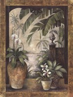 """Orchids in Paradise II by Elaine Vollherbst-Lane - 30"""" x 40"""""""