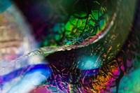 Macro Of Colorful Glass 2 Fine Art Print
