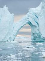 Ilulissat Icefjord At Disko Bay, Greenland Fine Art Print