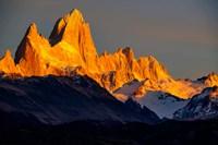 Argentina, Patagonia El Chalten, Fitz Roy Fine Art Print