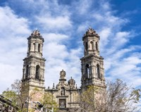 San Hipolito Church, Mexico City Fine Art Print