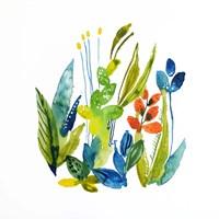English Garden 1 Fine Art Print