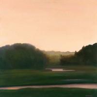 Pink River Fine Art Print