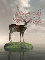 The Guardian of Spring Fine Art Print