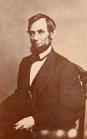 Abraham Lincoln, 1861 Fine Art Print