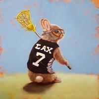 Lax Bunny Fine Art Print