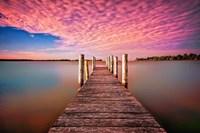 Pink Pier Fine Art Print