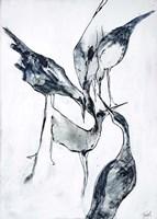 Crane 2 Framed Print