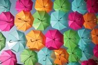 Portugal Umbrella 1 Fine Art Print