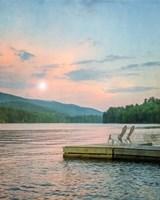Dock at Sunset Fine Art Print