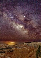 Milky Way over Bryce Canyon Fine Art Print