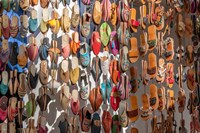 Moroccan Sandals Fine Art Print