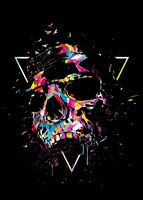 Skull X Fine Art Print