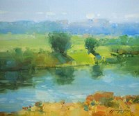 Summer Lake Fine Art Print