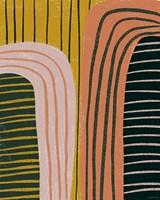Retro Terracotta Fine Art Print