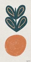 Retro Orange Fine Art Print