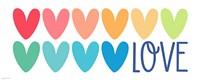 Love Hearts Fine Art Print