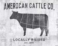 Cattle Co. Fine Art Print
